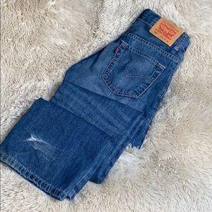 LEVI'S • 505 Regular Boys Denim Jeans
